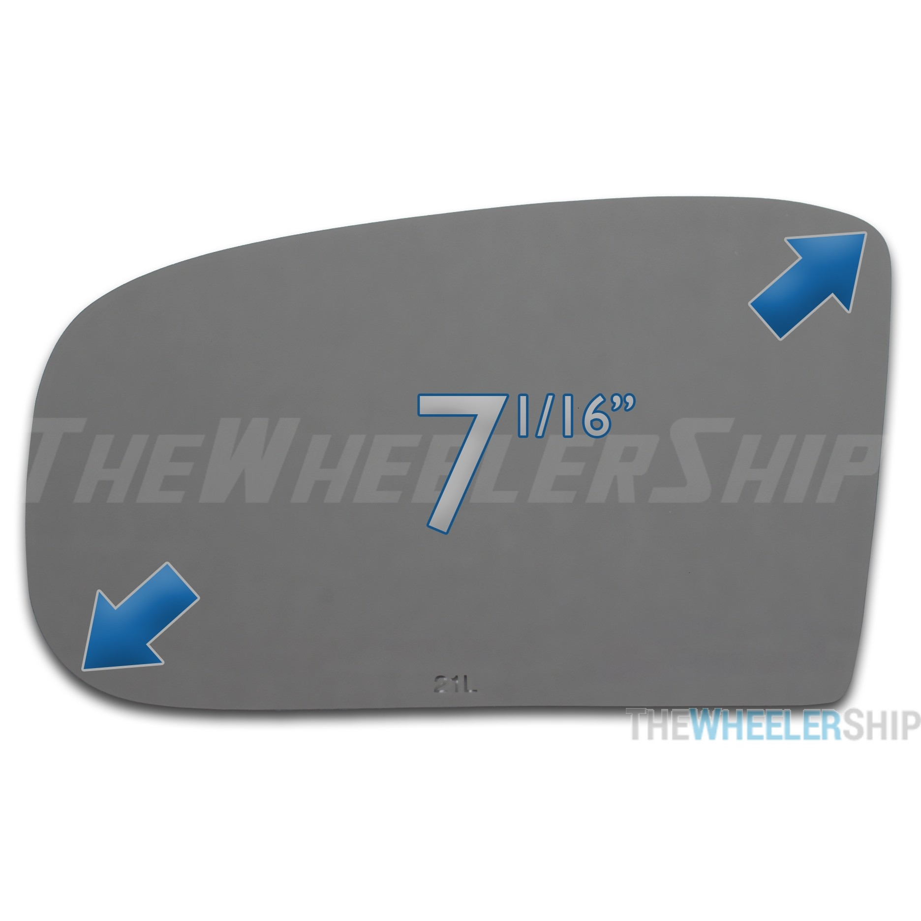 S-Class Mirror Glass For Driver Side Mirror On Mercedes C-Class