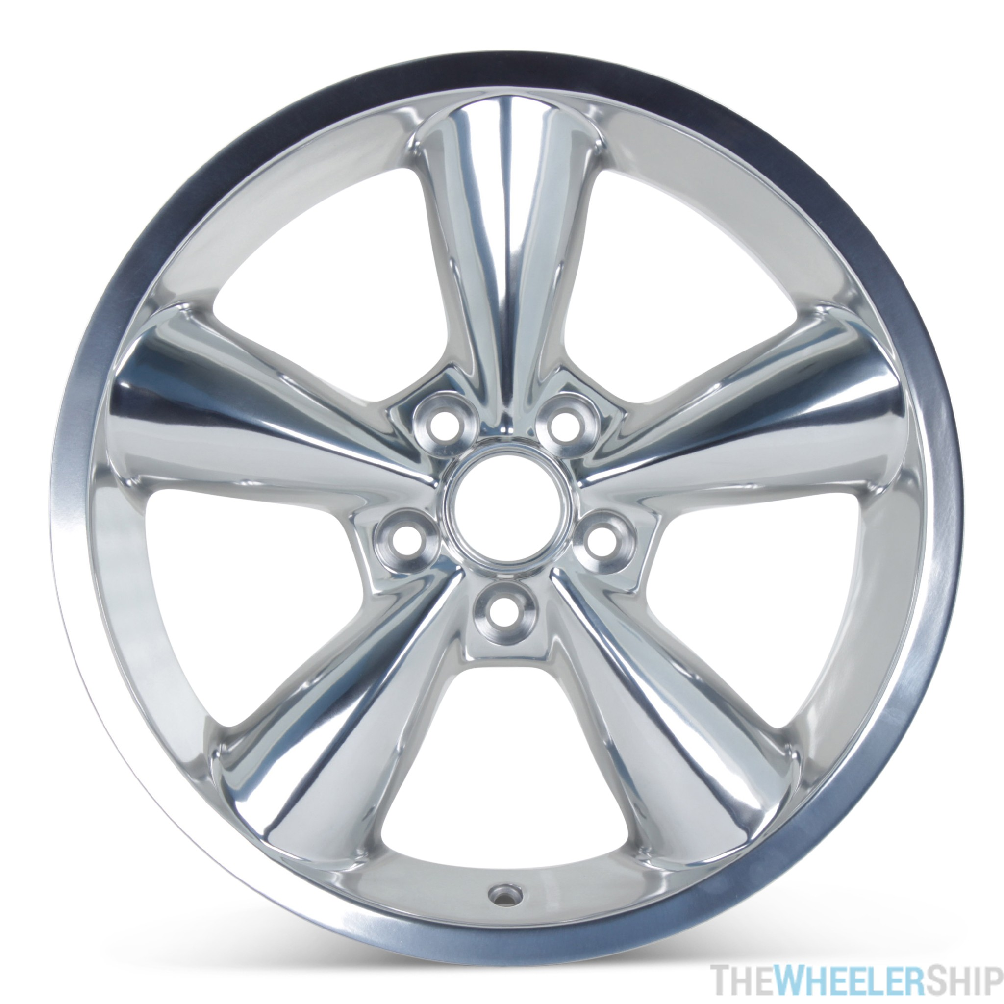2008 Mustang Rims >> New 18 X 8 5 Replacement Wheel For Ford Mustang 2006 2007 2008 2009 Rim 3648 Polished