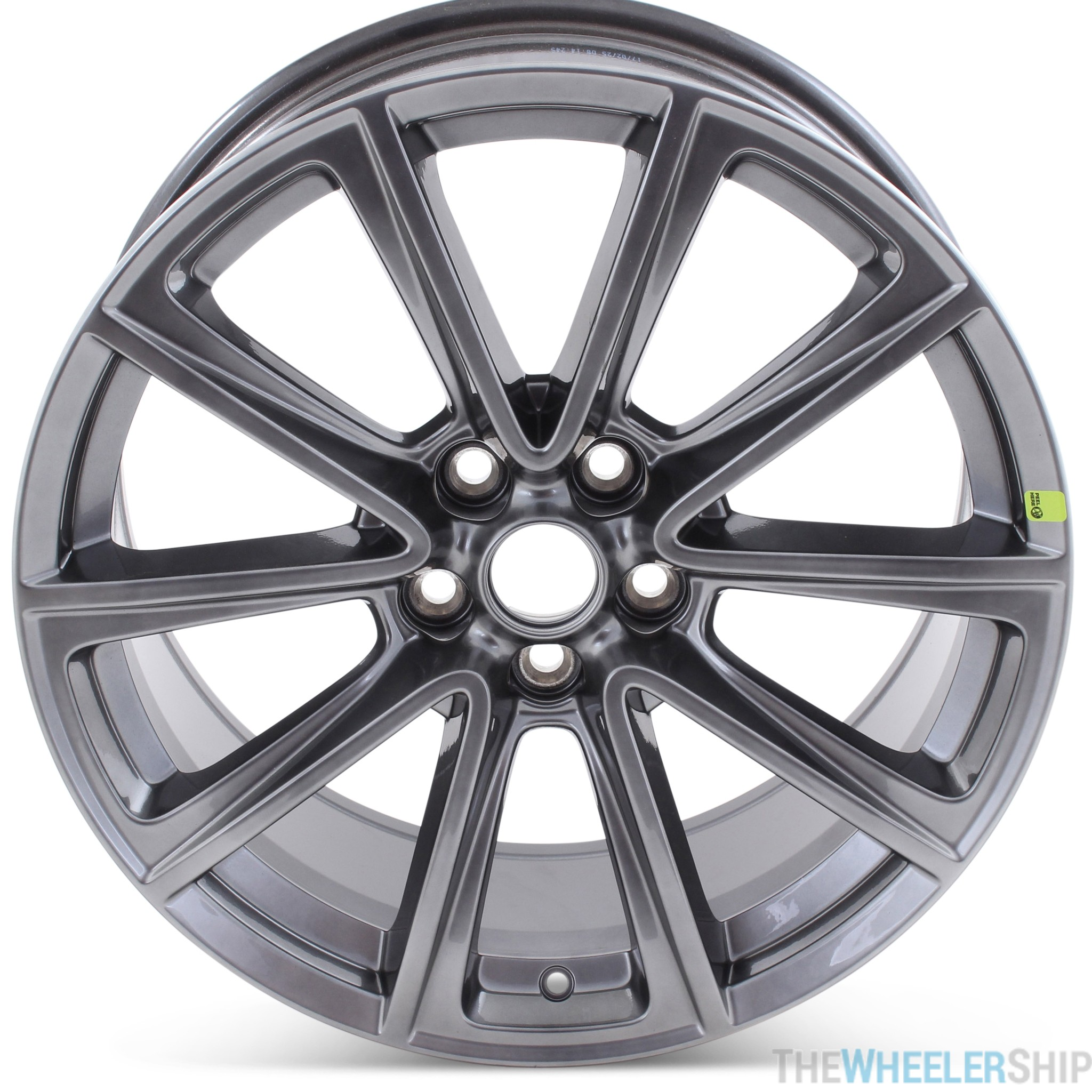 Brand New 19 X 8 5 Ford Mustang 2015 2016 2017 Factory Oem Wheel Hypersilver Rim 10031