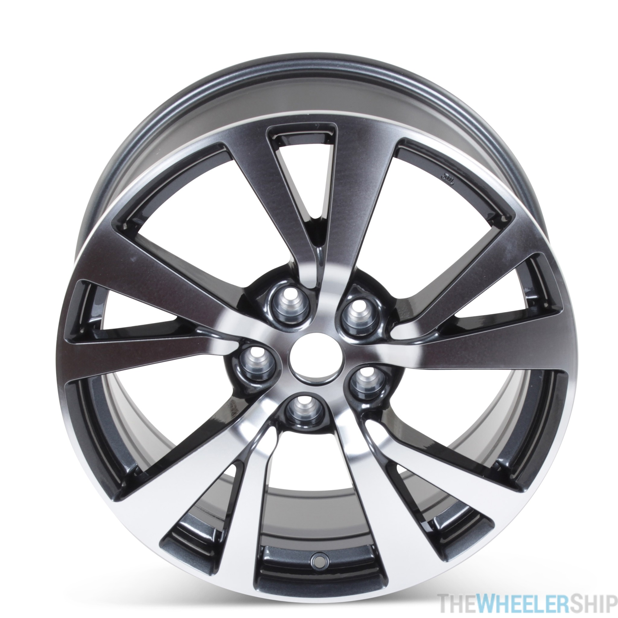 New 18 Alloy Replacement Wheel For Nissan Maxima 2016 2017 2018 Machined W Charcoal Rim 62721