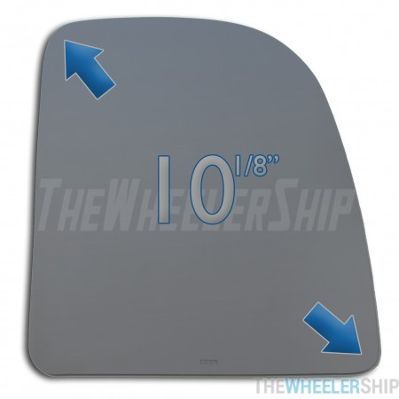 New Mirror Glass For Ford E-Series E-150 E-250 SD E-350 F-Series Excursion 1999-2012 Passenger Side