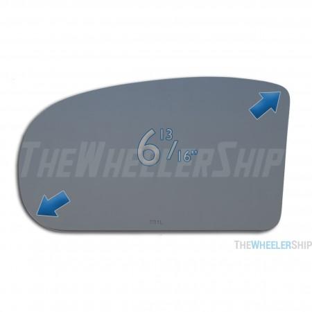 New Mirror Glass Replacement For Mercedes Benz E280 E320 E350 C320 C280 4119