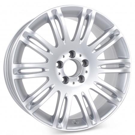 """New 18"""" x 8.5"""" Alloy Replacement Wheel for Mercedes E350 E550 2007 2008 2009 Rim 65432 Silver"""