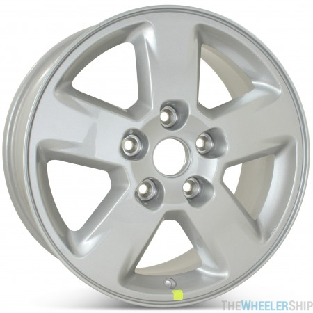"Brand New 17"" x 8"" Jeep Grand Cherokee 2011 2012 2013 Factory OEM Wheel Silver Rim 9104"