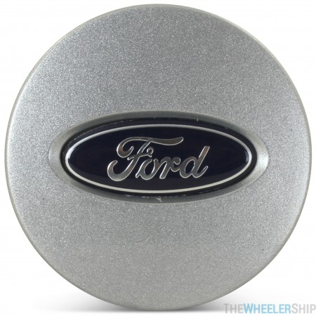OE Genuine Ford Silver Center Cap with Blue Ford Logo CAP3191