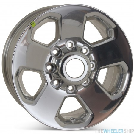 "Set of 4 Brand New 17"" x 8"" Dodge Ram 2500 3500 2014 2015 2016 2017 Factory OEM Wheels Polished Rim 2498"