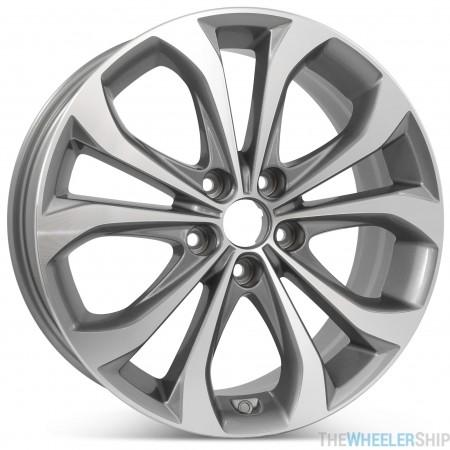 "New 18"" x 7.5"" Alloy Replacement Wheel for Hyundai Sonata 2013 2014 Rim 70843"