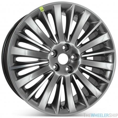 "Brand New 19"" x 8"" 2013 2014 2015 2016 Lincoln MKZ Factory OEM Wheel Polished W/ Charcoal Rim 3955"