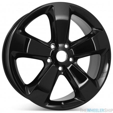 """New 20"""" Alloy Replacement Wheel for Jeep Grand Cherokee 2015 2016 Gloss Black Rim 9137"""