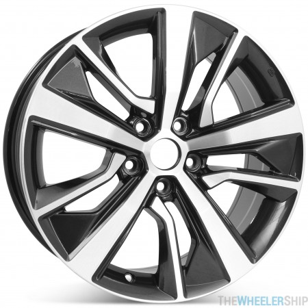 """New 18"""" x 8"""" Alloy Replacement Wheel for Nissan Maxima 2019 2020 Machined w/ Dark Charcoal Rim 96441"""