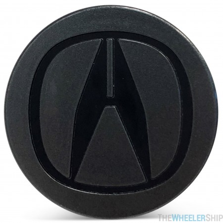 OE Genuine Acura Charcoal Center Cap with Black Logo CAP1988