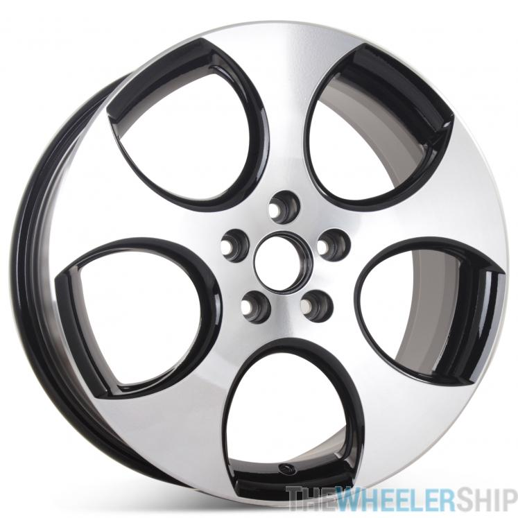 18 Quot X 7 5 Quot Black Finish Replacement Wheel For Volkswagen