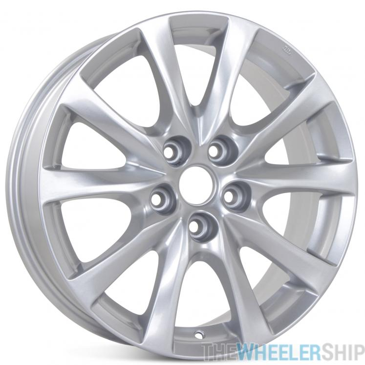 "Mazda 6 Rims Wheels: New 17"" X 7.5"" Alloy Replacement Wheel For Mazda 6 M 2012 2013 2014 2015 2016 2017 Rim 64957"