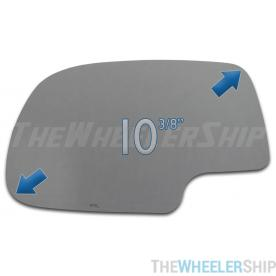 New Mirror Glass for Chevy Silverado GMC Sierra Truck Power Driver Left Side 2734