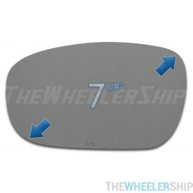 New Mirror Glass Replacements For Chrysler Dodge 300 Charger Magnum Left Side