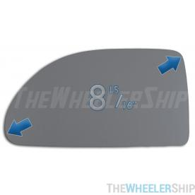 New Mirror Glass Replacements For Equinox Vue Torrent Driver Left Side 2955