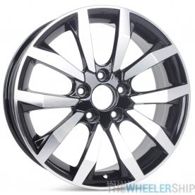 "New 17"" x 7"" Wheel for Honda Civic EX EX-L 2014 2015 Rim Black 63996 64063"