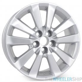 "New 16"" x 6.5"" Alloy Wheel for Toyota Corolla Matrix 2009 2010 2011 2012 2013 Rim 69544"