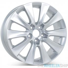 "New 18"" x 8"" Replacement Wheel for Honda Accord 2008 2009 2010 Silver Rim 63937"