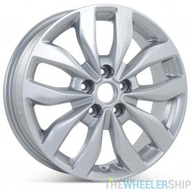 "New 17"" x 6.5"" Alloy Replacement Wheel for Kia Optima 2013 2014 2015 Silver Rim 74690"