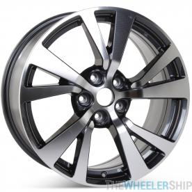 "New 18"" Alloy Replacement Wheel for Nissan Maxima 2016 2017 2018 Machined w/ Charcoal Rim 62721"