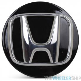 OE Genuine Honda Accord 2018 2019 2020 Black Center Cap with Chrome Logo CAP7766