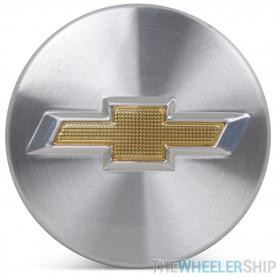 OE Genuine Chevrolet Center Cap Chrome  W/ Gold Logo CAP5479