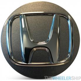 OE Genuine Honda Accord 2018 2019 2020 Silver Center Cap with Chrome Logo CAP1559