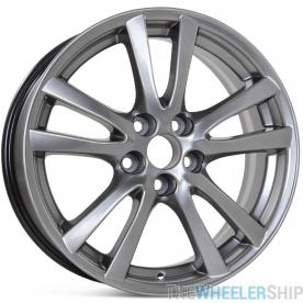 "New 18"" x 8"" Replacement Wheel for Lexus IS250 IS350 2006-2008 Rim 74189 Hypersilver"
