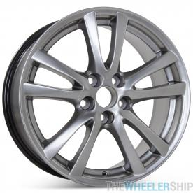 "New 18"" x 8.5"" Rear Replacement Wheel for Lexus IS250 IS350 RWD 2006 2007 2008 Rim 74214 Hypersilver"