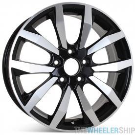 "17"" x 7"" Wheel for Honda Civic EX EX-L 2014 2015 Rim Black 63996 64063 Open Box"