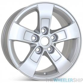 "New 16"" x 7.5"" Alloy Replacement Wheel for Chevrolet Malibu 2013 2014 2015 2016 Rim 5558"
