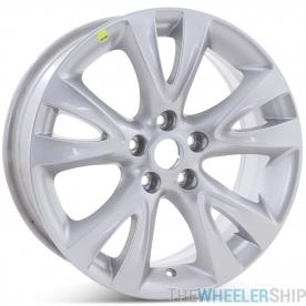 "Brand New 18"" x 7.5"" Ford Taurus 2010 2011 2012 Factory OEM Wheel Silver Rim 3817"