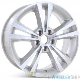 "Brand New 18"" x 7.5"" 2009 2010 2011 2012 Lincoln MKS Factory OEM Wheel Machined W/ Silver Rim 3765"