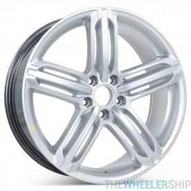 "New 19"" Alloy Replacement Wheel for Audi A4 S4 2009 2010 2011 2012 2013 2014 2015 2016 Rim 58840"