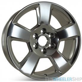 "New 20"" Alloy Replacement Wheel for Chevrolet Tahoe Suburban Silverado 1500 2015 2016 2017 2018 2019 Rim 5652"