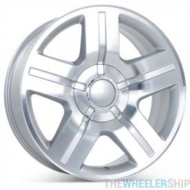 "Set of 4 New 20"" x 9"" Aftermarket Wheels for Chevrolet Avalanche Silverado Suburban Tahoe 2007-2011"