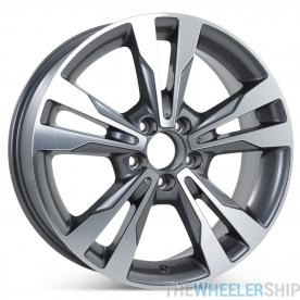 "New 18"" x 8.5"" Alloy Replacement Rear Wheel for Mercedes C300 C350 2015 2016 2017 2018 Rim 85371"
