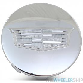 OE Genuine Cadillac Center Cap Chrome W/ Chrome Crest 23491795 for Escalade Fits multiple wheels CAP7040
