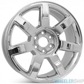 "Brand New 22"" x 9"" Cadillac Escalade 2007 2008 2009 2010 2011 2012 2013 Factory OEM Wheel Rim 5309 Chrome"
