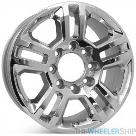 "Brand New 20"" x 8.5"" Chevrolet Silverado HD 2500 3500 2015 2016 2017 2018 2019 Factory OEM Wheel Chrome Rim 5705"