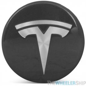OE Genuine Tesla Center Cap W/ Tesla Logo Charcoal CAP4999
