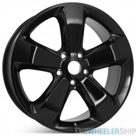 "New 20"" Alloy Replacement Wheel for Jeep Grand Cherokee 2015 2016 Gloss Black Rim 9137"