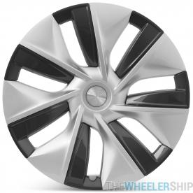 "OE Genuine Tesla Model 3 19"" Gemini Hubcap Wheel Cover Performance Package 2019 2020 1044235A"