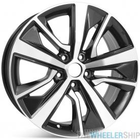"New 18"" x 8"" Alloy Replacement Wheel for Nissan Maxima 2019 2020 Machined w/ Dark Charcoal Rim 96441"