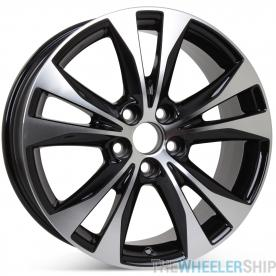 "New 18"" x 7.5"" Replacement Wheel for Toyota RAV4 2013 2014 2015 Rim 69628"