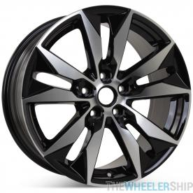 "New 18"" x 8.5"" Wheel for Chevrolet Malibu 2016 2017 2018 Machined W/ Black Rim 5716"