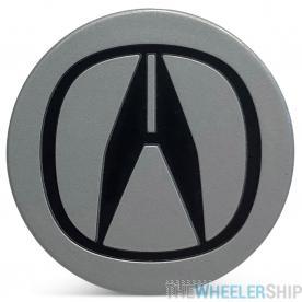 OE Genuine Acura Silver Center Cap with Black Logo CAP8870