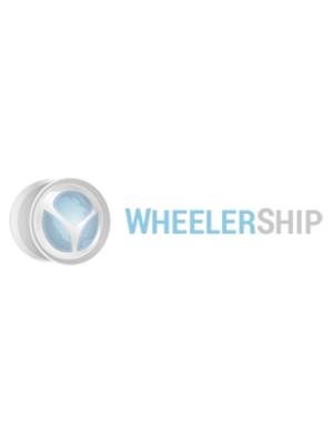 OE Genuine Mercedes Center Cap Silver W/ Chrome Logo