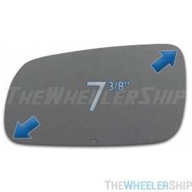 New Mirror Glass Replacements For Volkswagen Jetta Passat GTI Golf Driver Side